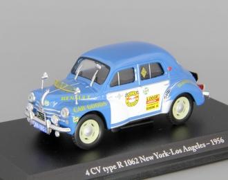 RENAULT 4 CV type К 1062 New York - Los Angeles (1956), blue