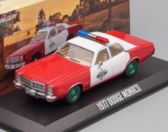 "DODGE Monaco ""Finchburg County Sheriff"" 1977 Red (Greenlight!)"