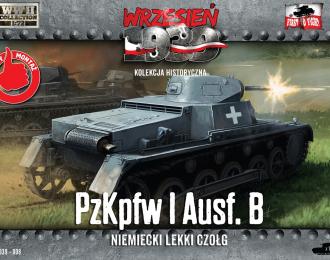 Сборная модель Немецкий легкий танк PzKpfw I Ausf.B.