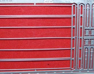 Фототравление Багажник на крышу БА-11 для ВАЗ-2121 Нива (1:24)
