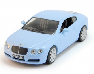 (Уценка!) BENTLEY Continental GT, Суперкары 20, light blue