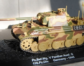 Pz.Bef.Wg. V Panther Ausf. G, 116. Panzer-Division, Germany 1945