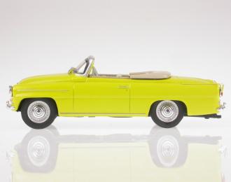 Skoda Felicia Roadster 1963, yellow