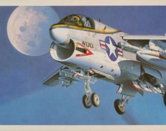 Сборная модель Американский штурмовик Ling-Temco-Vought A-7A Corsair II