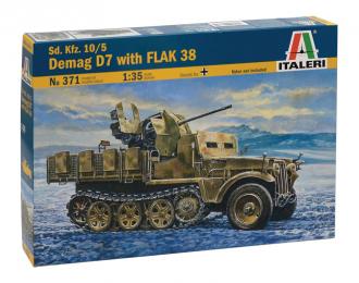 Сборная модель Зенитная самоходная установка Demag D7