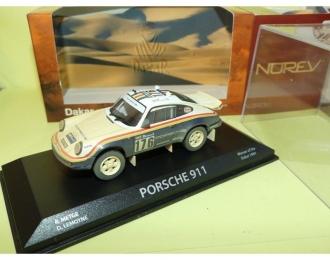 PORSCHE 911 #176 R.Metge Rallye Paris Dakar 1984