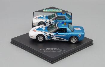 CHEVROLET Corvette Le Mans Pace Car 1999, metallic blue