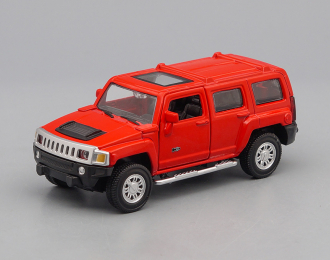 HUMMER H3, red