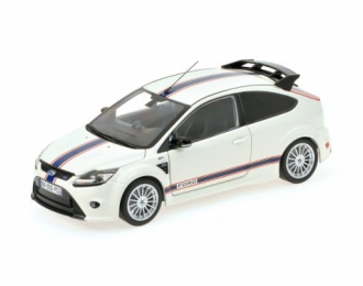 FORD FOCUS RS - 2010 - LE MANS CLASSIC EDITION 1967 FORD MK.IIB TRIBUTE белый