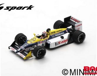 Williams FW11B #6 Winner Hungary GP 1987 Nelson Piquet