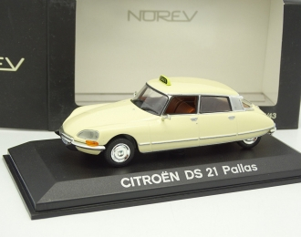 CITROEN DS 21 Pallas Taxi, beige