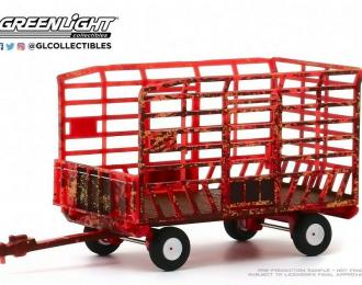 Trailer Bale Throw Wagon - Carrello Trasporto Fieno