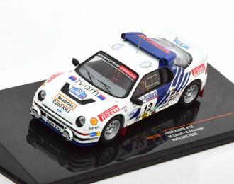 FORD RS200 #12 Lovell - Freeman Lombard RAC Rally 1986