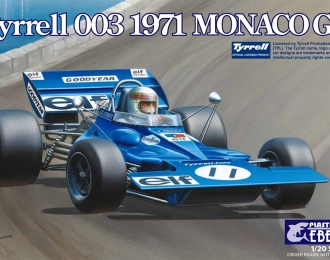 Сборная модель Спортивный автомобиль Tyrrell 003 Monaco GP 1971