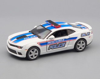 CHEVROLET Camaro Police (2014), white / blue