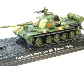 Китайский средний танк Type 59, Танки Мира Коллекция 16