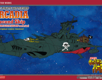 Сборная модель Корабль SPACE PIRATE BATTLESHIP ARCADIA Second ShipPHANTOM DEATH SHADOW conver