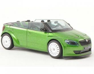 SKODA Fabia RS2000 Concept Car 2011, зеленый