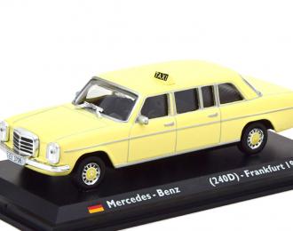 Mercedes-Benz 240D V115 (W115) лимузин 1972 Такси Франкфурт