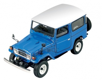 TOYOTA Land Cruiser FJ40, blue / white roof