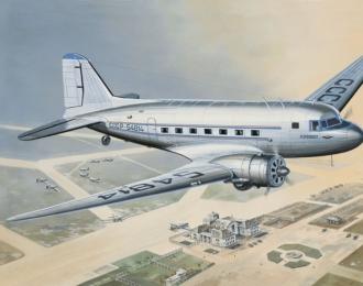 Сборная модель Пассажирский самолет ПС-84 Аэрофлот