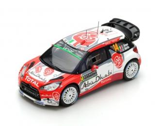 Citroen DS3 WRC #14 5th Monte Carlo 2017 Citroen Total Abu Dhabi WRT C. Breen - S. Martin