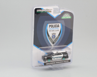 "DODGE Durango ""Policia Municipal de San Juan, Puerto Rico"" 2018 (Greenlight!)"