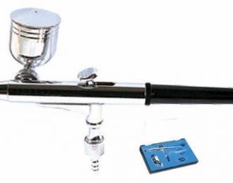 Аэрограф широкого спектра применения, позволяет красить под любым углом кокрашиваемой поверхности