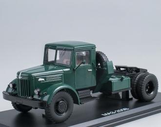 МАЗ 200В седельный тягач, зеленый
