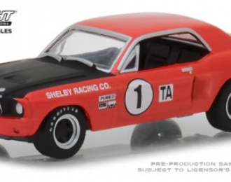 FORD Mustang Shelby #1 Jerry Titus & Ronnie Bucknum 1968
