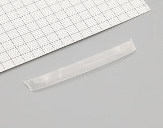 Визор на лобовое стекло для грузовиков (прозрачный), цена за шт.