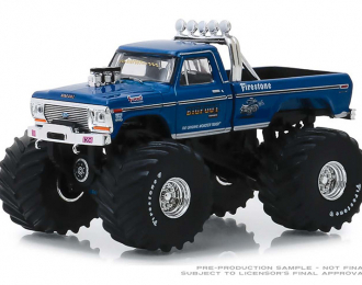 FORD F-250 Monster Truck Bigfoot #1 (Clean Version with 66-Inch Tires) 1974