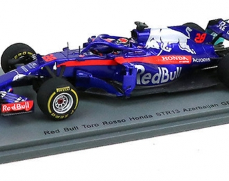 Red Bull Toro Rosso Honda #28 Race TBC 2018 Toro Rosso STR13 Brendon Hartley