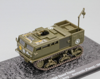 M4 High Speed Tractor 987th Field Artillery Batallion 1st Army Normandie (France) - 1944