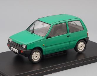 """ВАЗ-1111 """"Ока"""", Легендарные Советские Автомобили 51, зеленый"""