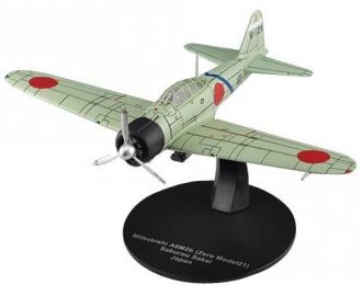 Mitsubishi A6M2b Saburo Sakai's Zeke Aircraft, Masterpieces WWII №40