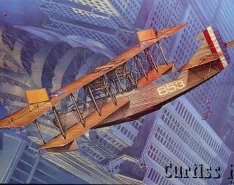 Сборная модель Американская летающая лодка Curtiss H-16