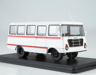 Уралец-70С, белый с красной полосой