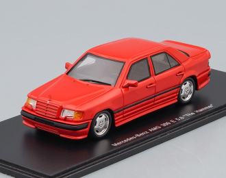"MERCEDES-BENZ 300E AMG ""THE HAMMER"" 1987, red"