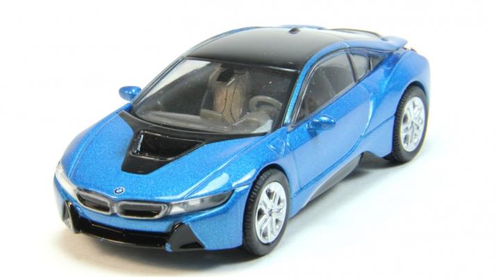 BMW i8 (i12), blue