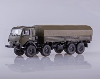 КАМАЗ-6350 Мустанг 8x8 бортовой, ХАКИ