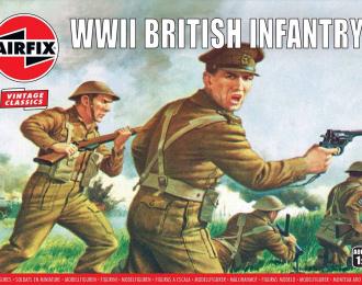 Сборная модель Набор солдатиков WWII British Infantry N. Europe