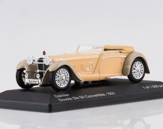 DAIMLER Double Six 50 Convertible (1931), beige / grey