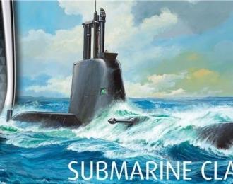 Сборная модель Подводная лодка Тип 214