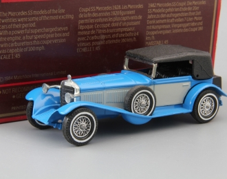 MERCEDES-BENZ SS (1928), Models of Yesterday, blue / grey / black