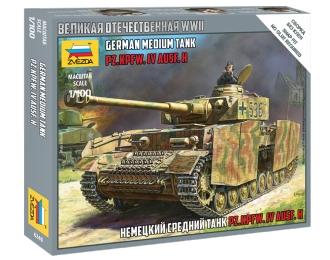 Сборная модель Немецкий танк Т-IV Н