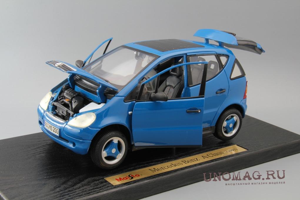 MERCEDES-BENZ A-Class (1997), blue