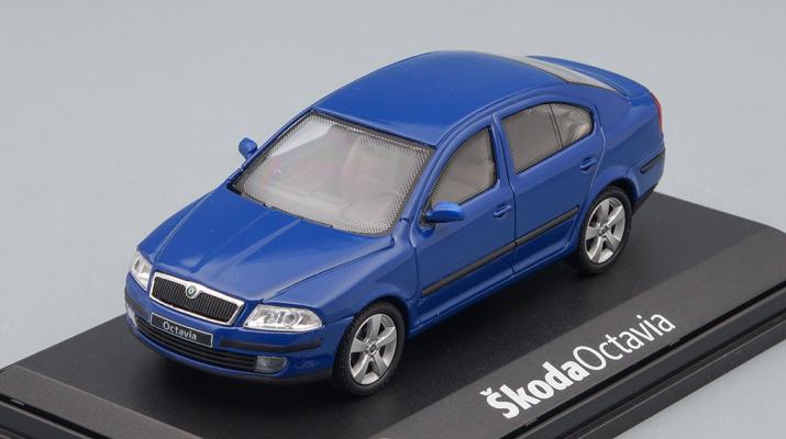 SKODA Octavia 2004, blue Dynamic