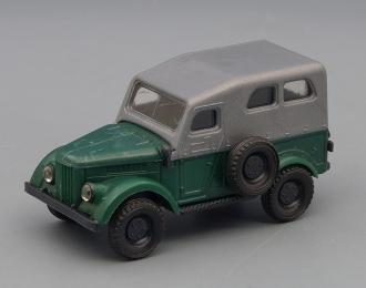 Горький 69 4x4, зеленый / серый