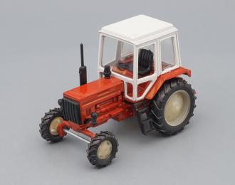 Трактор МТЗ-82 (цельнометаллический), оранжевый / белый